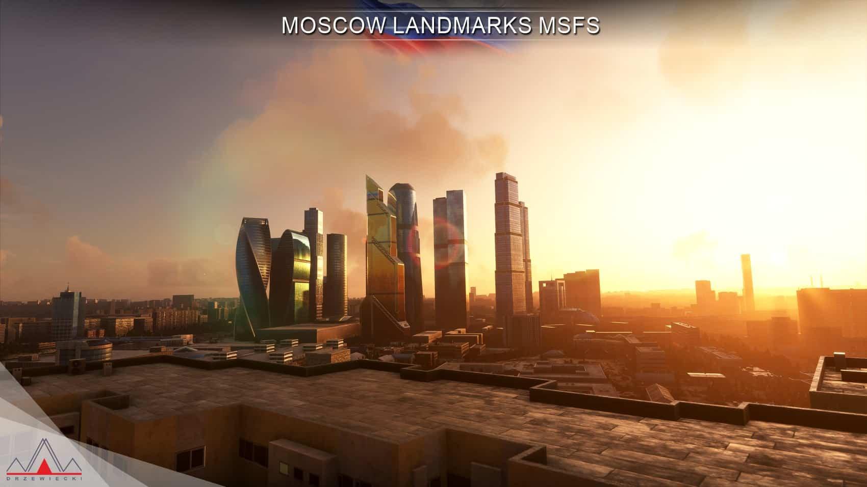 Drzewiecki Design – Moscow Landmarks MSFS v1.1