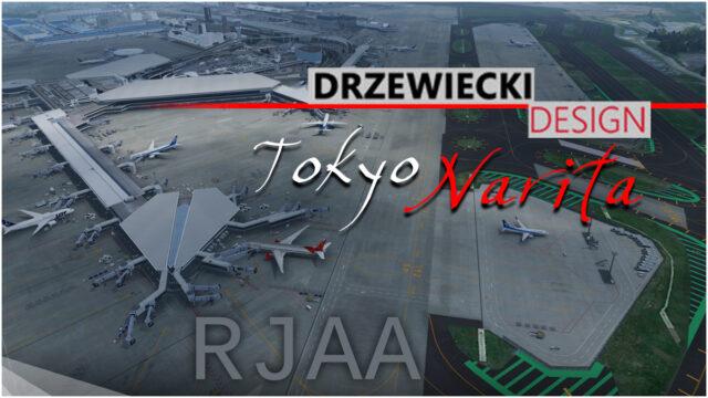 001_Drzewiecki_TokyoNaritaP3D-640x360 Drzewiecki Design – RJAA Tokyo Narita P3D v5 v4.4