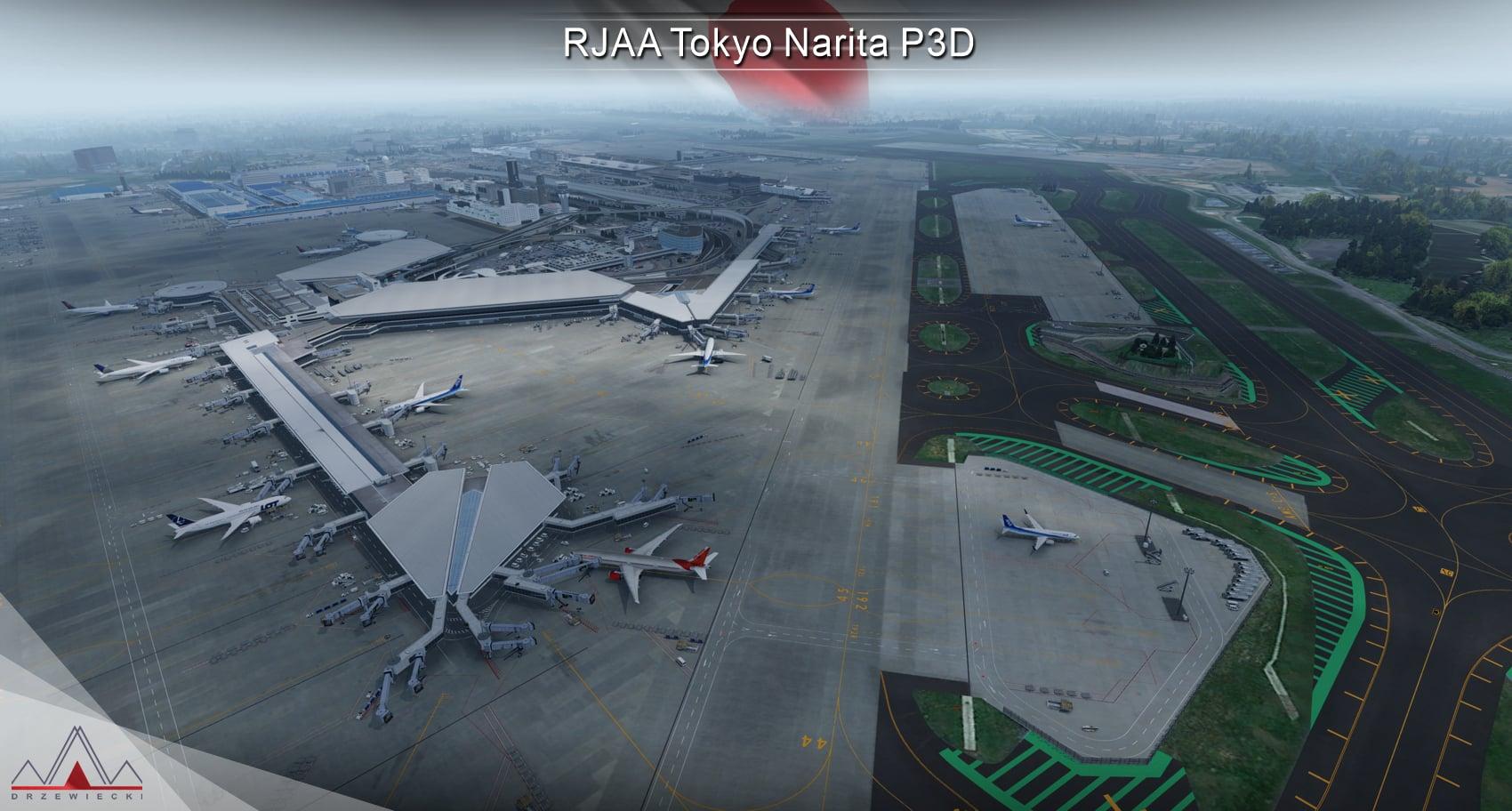 Drzewiecki Design – Narita P3D Update 1.1