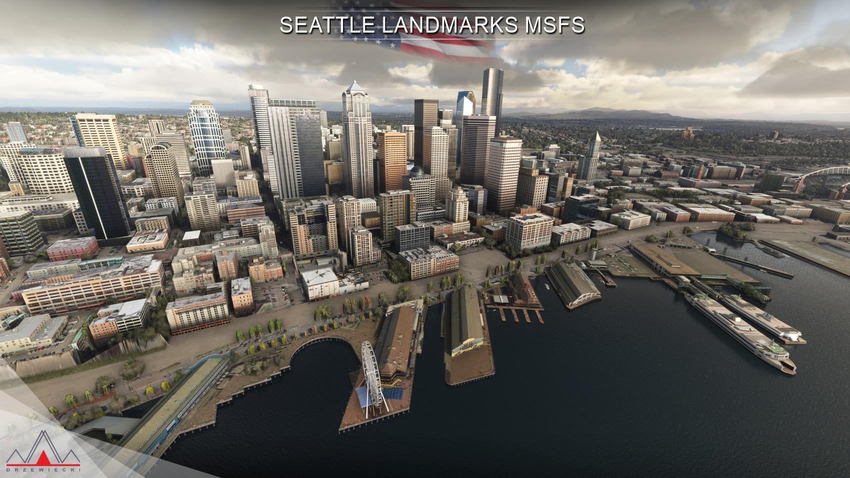 Drzewiecki Design – Seattle Landmarks MSFS