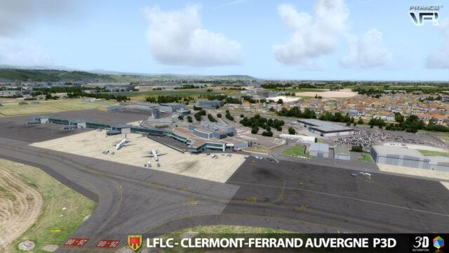 FRANCE-VFR-CLERMONT-FERRAND-LFLC-P3D-01-640x360 France VFR - Clermont-Ferrand LFLC X-Plane 11 or P3D v5/v4