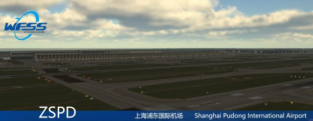 WFSS_ShangaiPudong_P3D_preview-640x247 WF Scenery Studio - Shanghai Pudong ZSPD P3D Preview