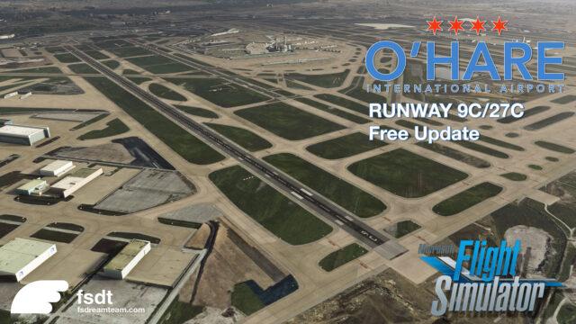 FSdreamteam-Chicago-OHare-V2-MSFS-Update-Runway-09C-27C-640x360 FSdreamteam - Chicago O'Hare V2 MSFS Update