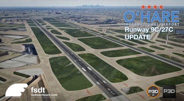 FSdreamteam-Chicago-OHare-V2-Update-Runway-09C-27C-640x353 FSdreamteam – Chicago O'Hare V2 P3D Update Runway 09C/27C