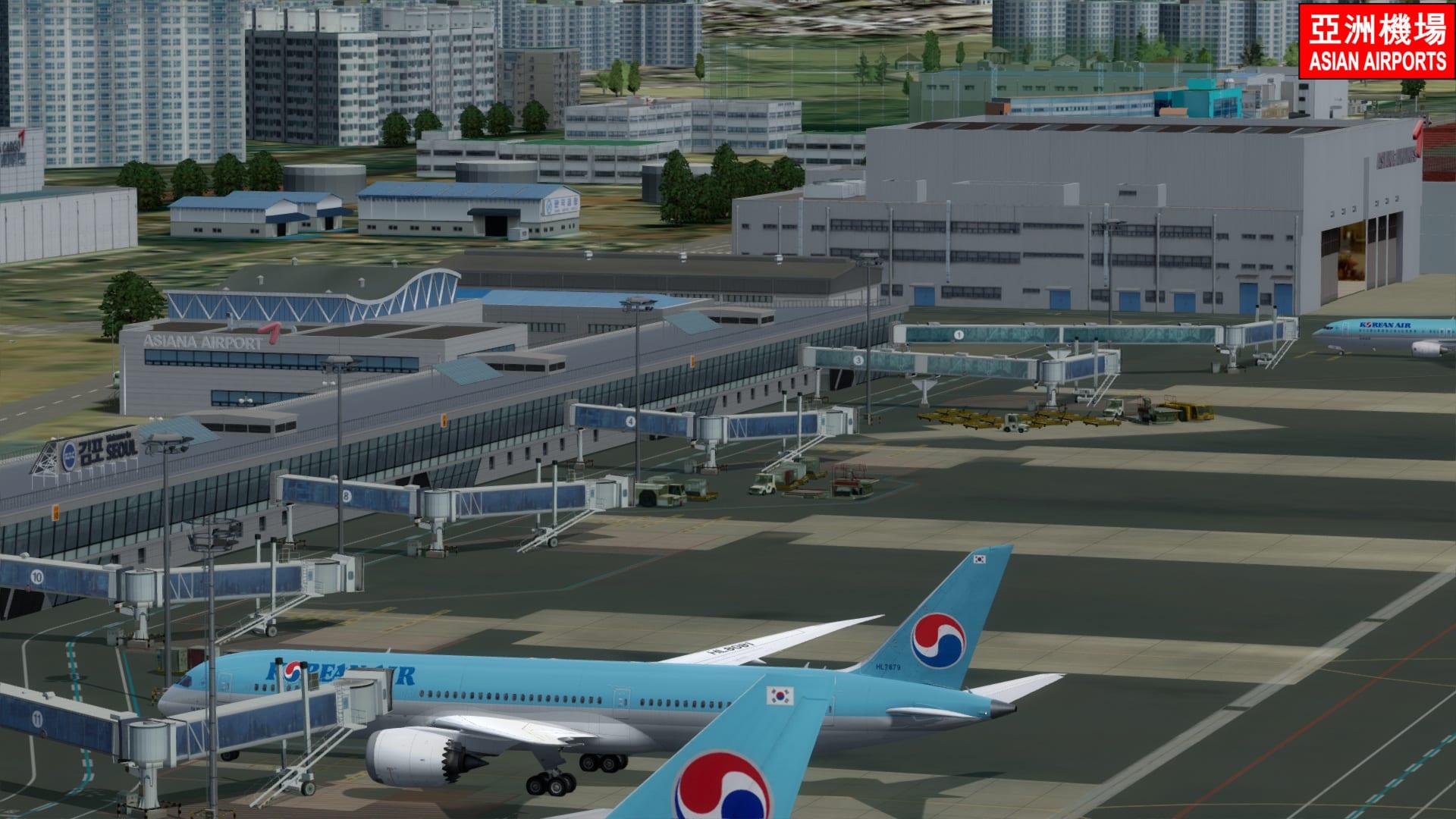 Asian Airport – Seoul Gimpo RKSS P3D5