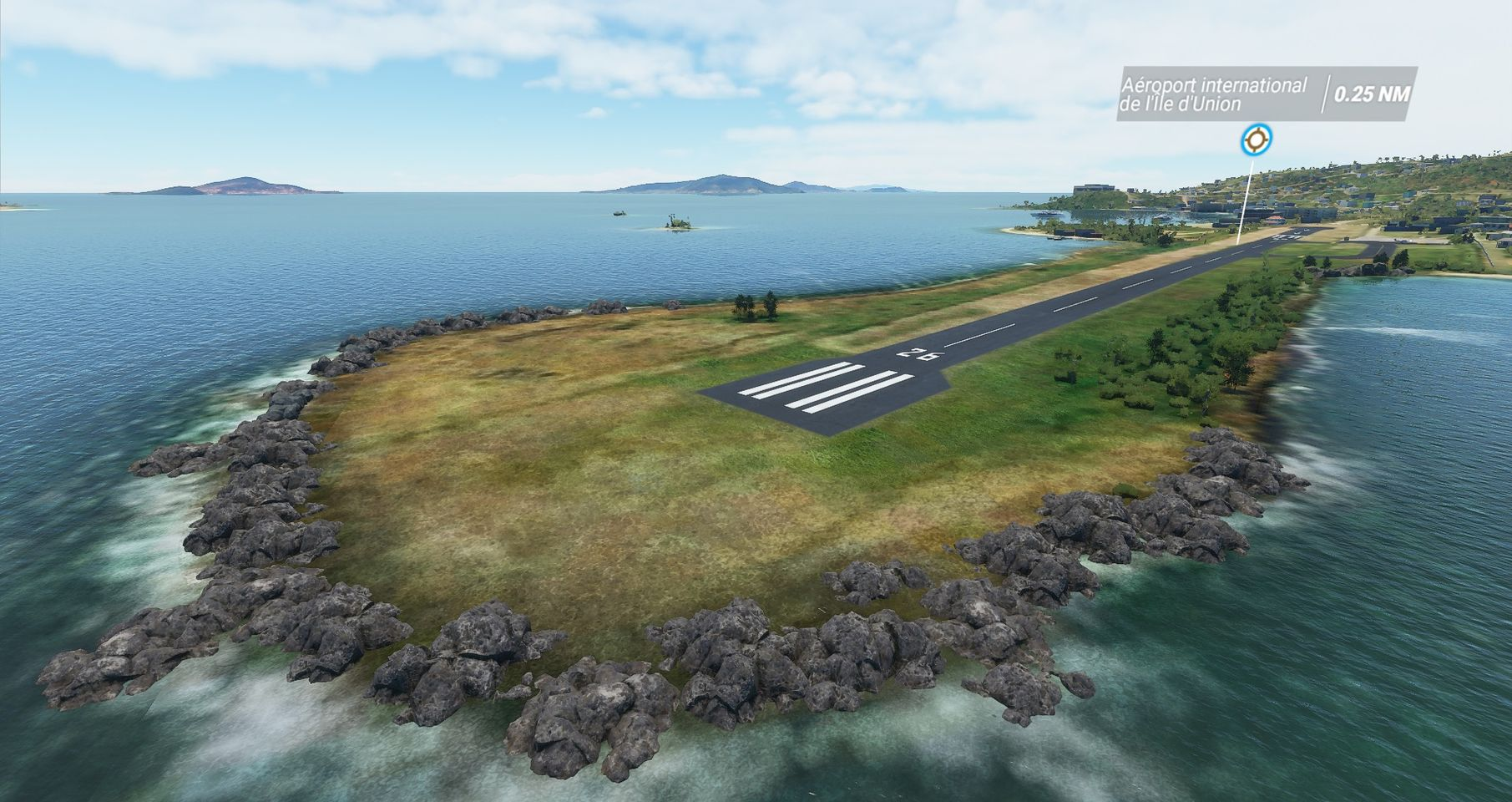 Free Scenery Design – Union Island Airport MSFS Preview