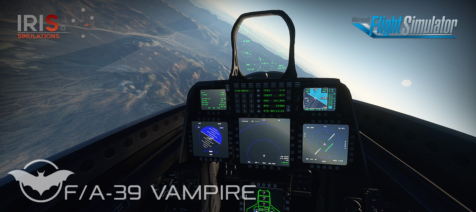 IRIS Simulations – F/A-39 Vampire MSFS VC Preview