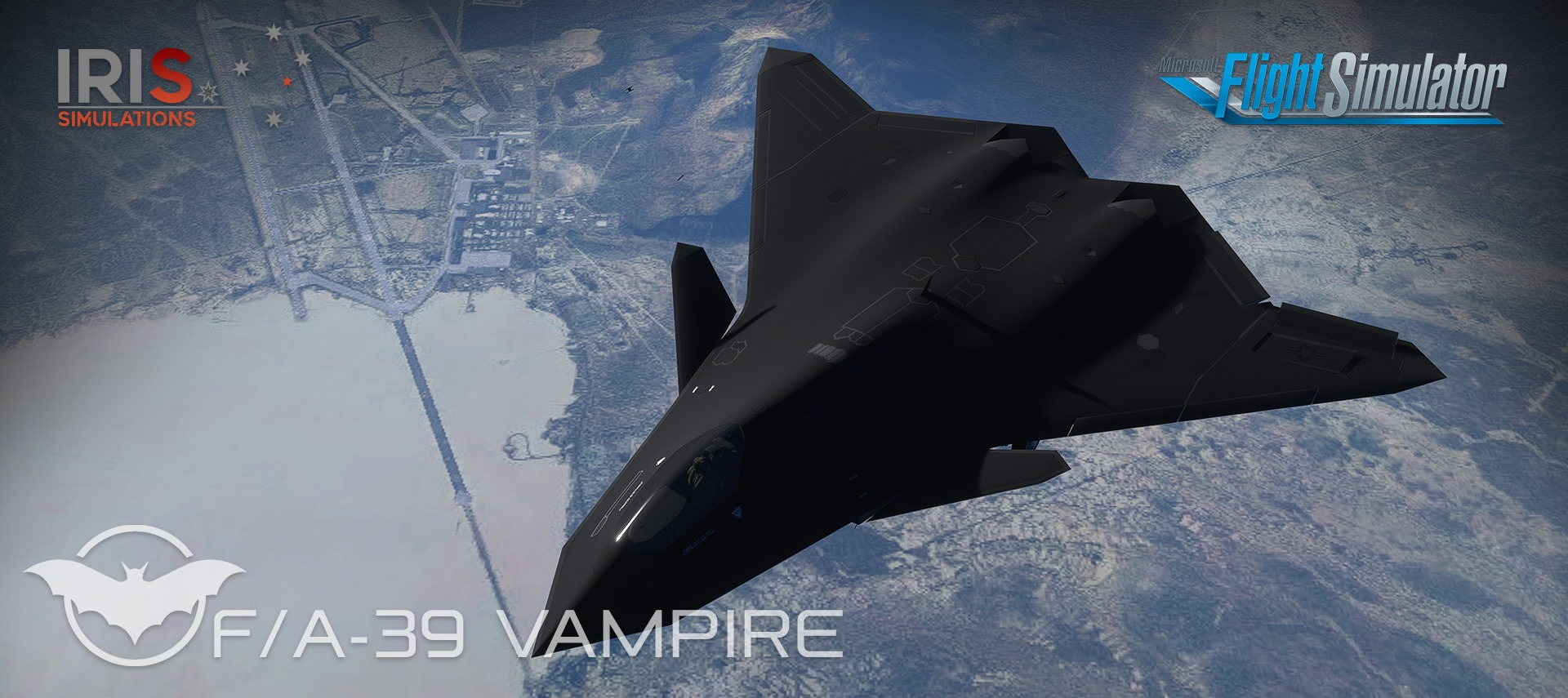 Iris – F/A-39 Vampire Prototype MSFS Preview