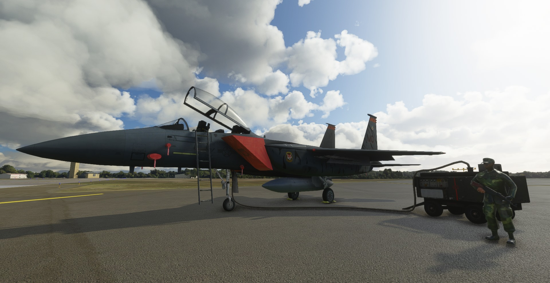 Just Flight – F-15 C, D, E & I Eagle MSFS Preview