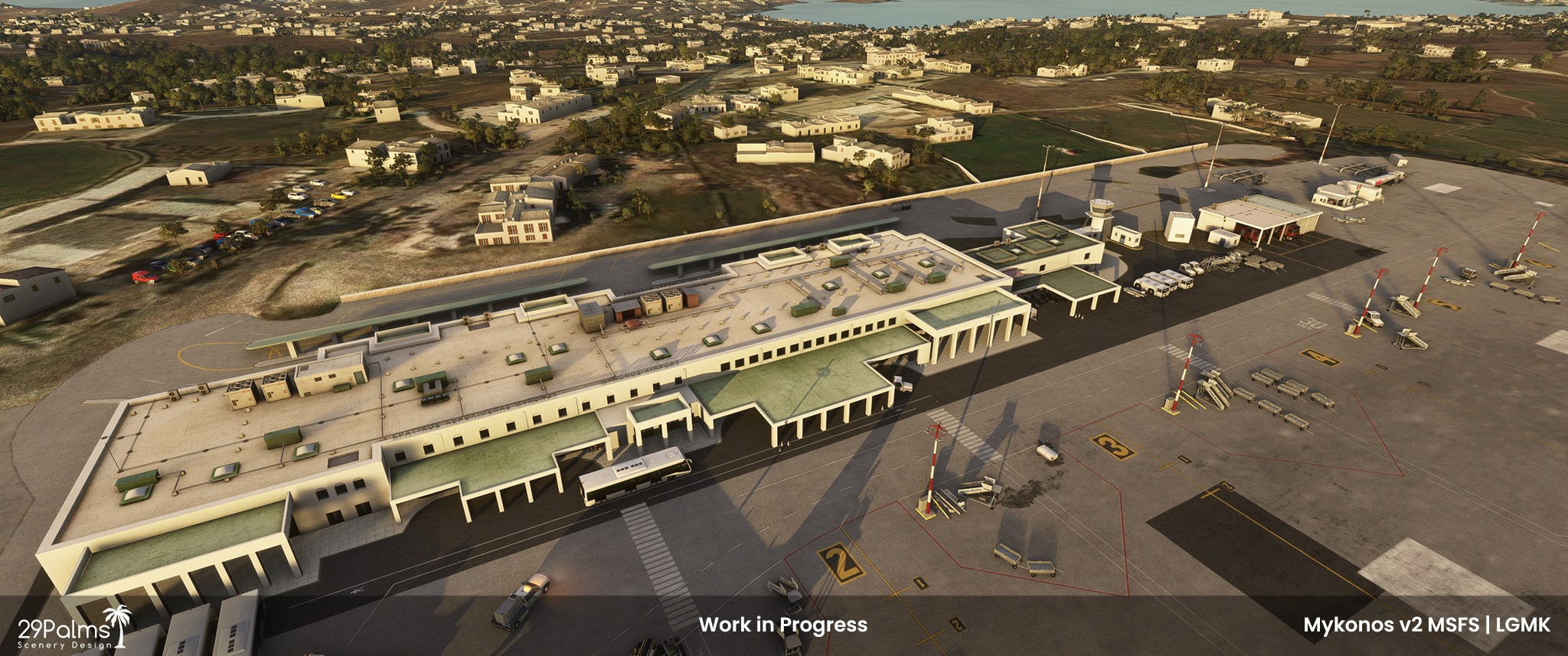 29Palms Scenery Design – Mykonos LGMK Project News