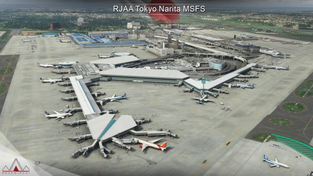 Drzewiecki Design – RJAA Tokyo Narita MSFS