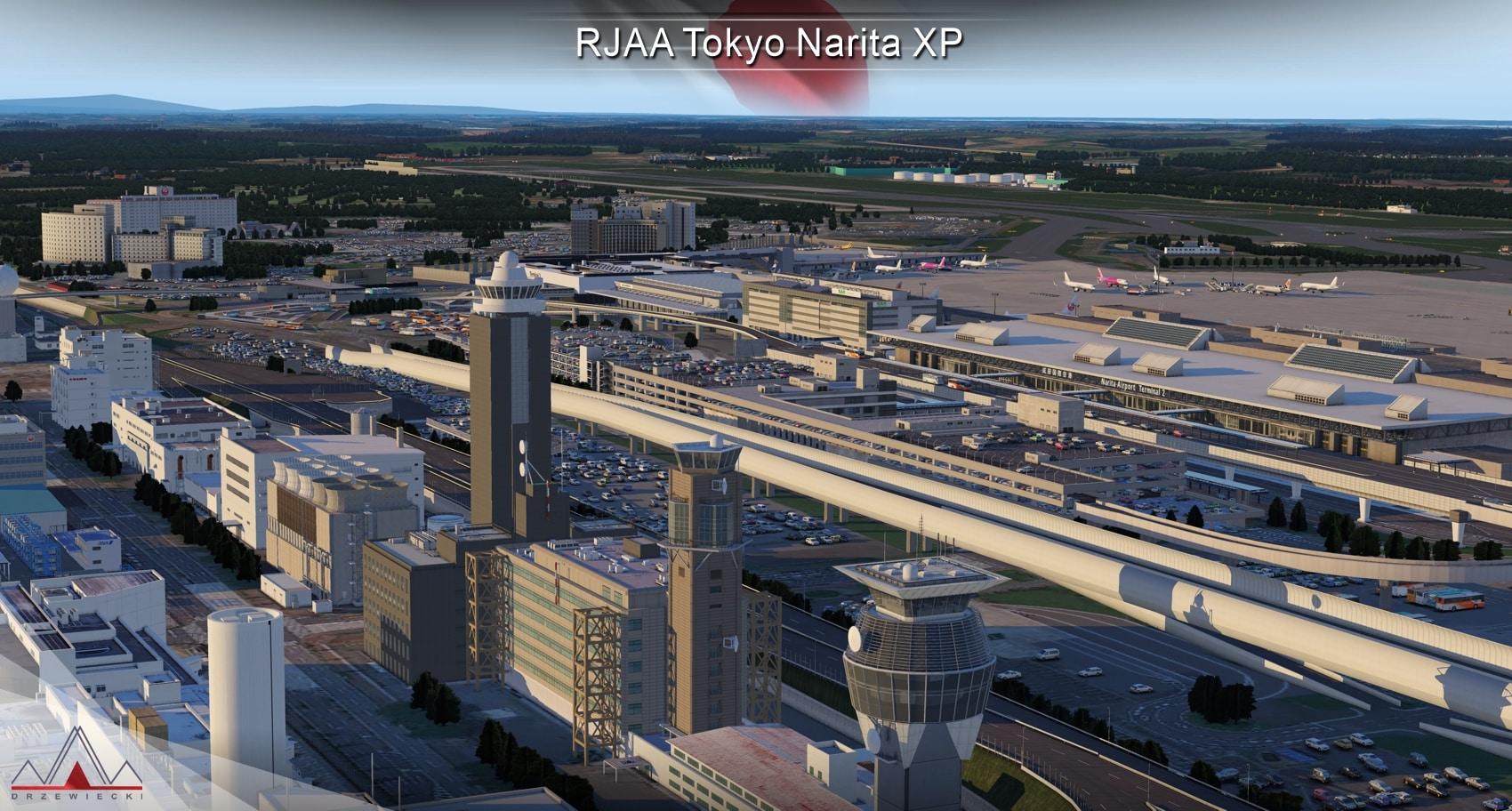 Drzewiecki Design – RJAA Tokyo Narita XP11