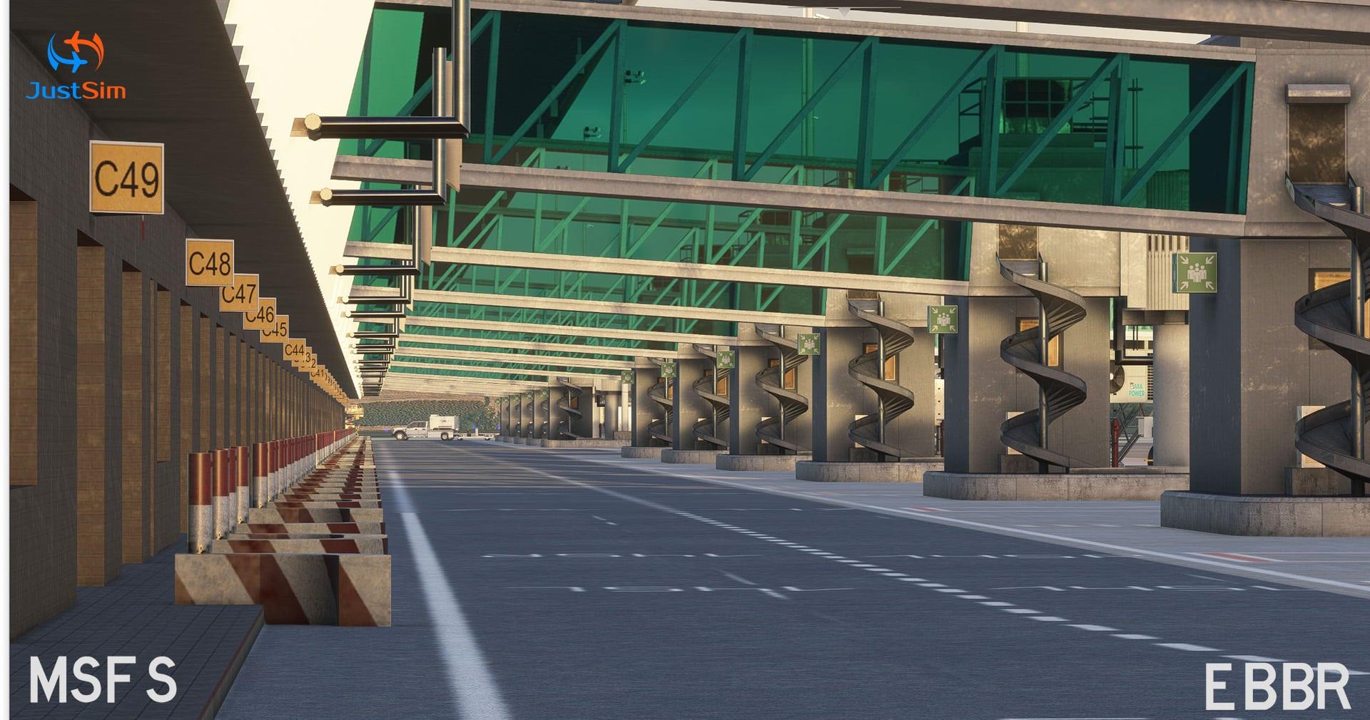 JustSim – EBBR Brussels Airport MSFS