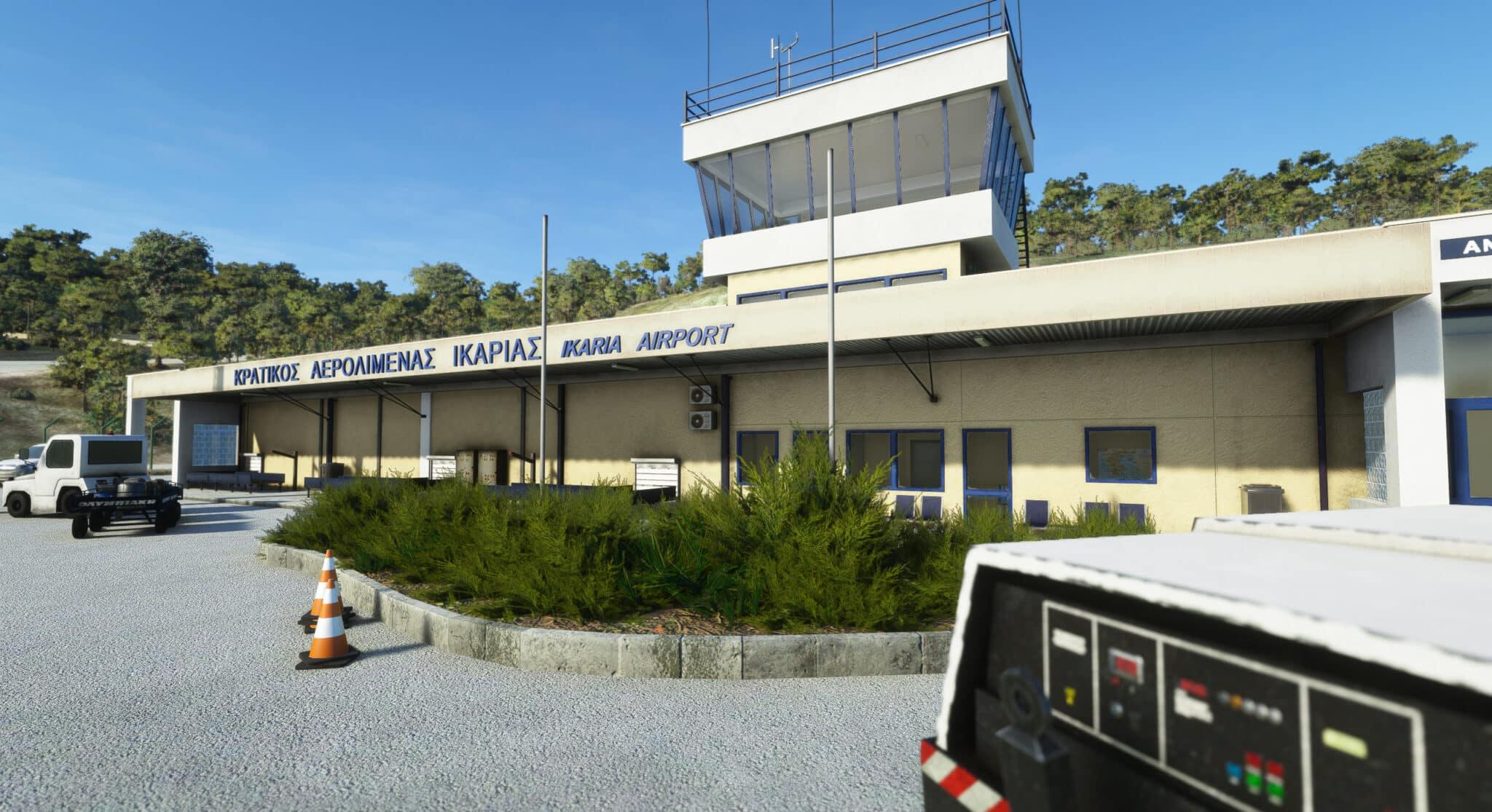 Terrainy Studios – Ikaria Airport MSFS