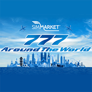 777 Around The World P3D with simMarket