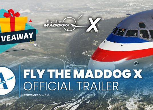 Fly the Maddog X 64bit Edition 2.0b784 Official Release with Voice Control