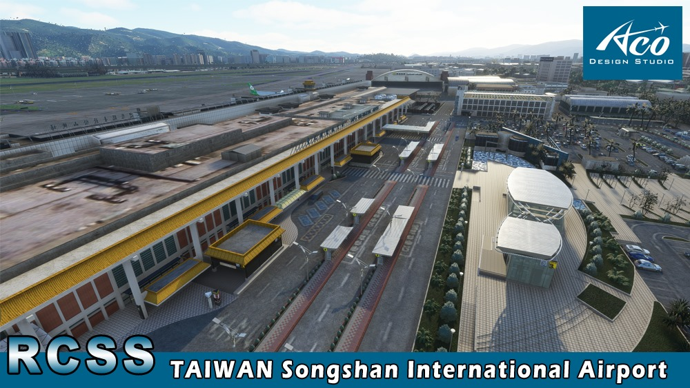 ACO Design Studio – RCSS Taipei Songshan Preview in MSFS