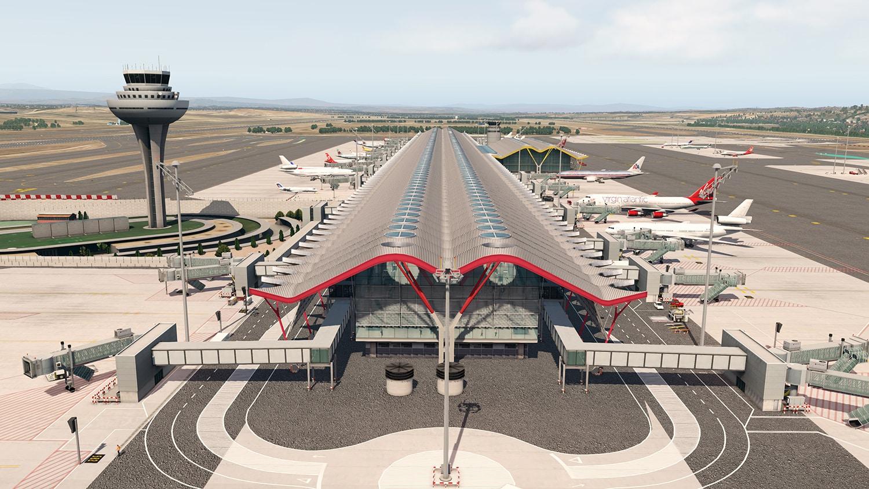 Aerosoft – Airport Madrid X-Plane 11