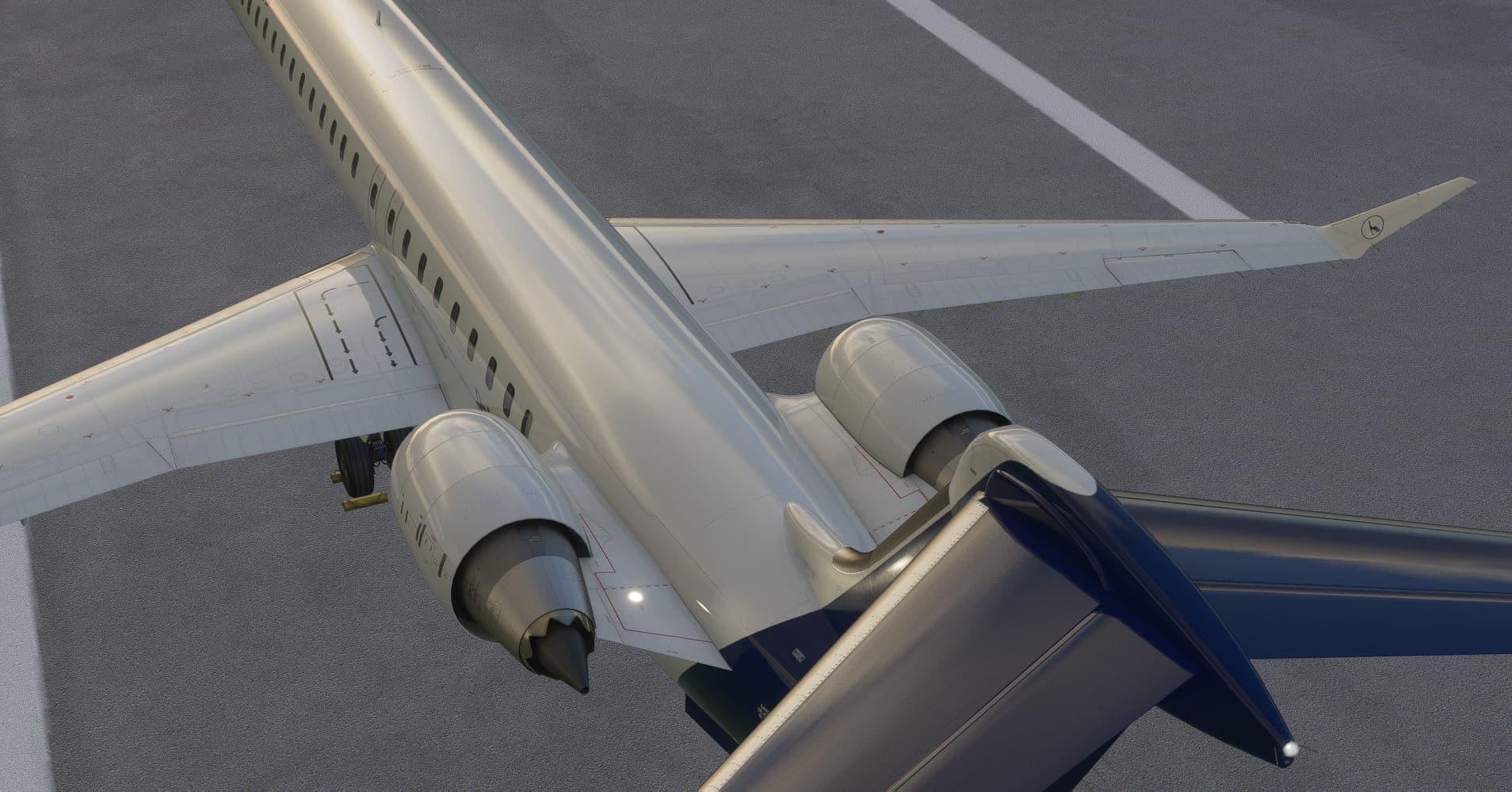Aerosoft – CRJ 900/1000 Preview for MSFS