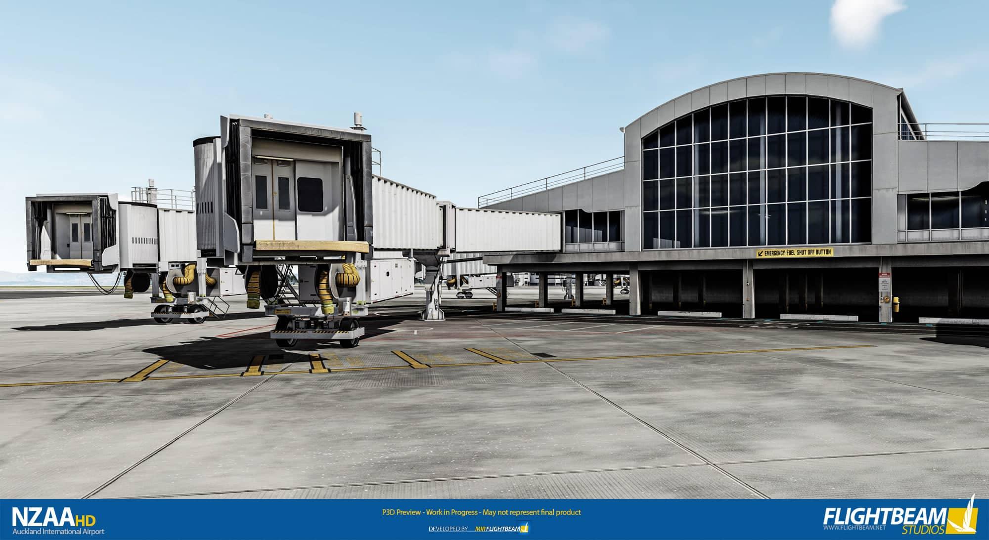 FlightBeam Studios – NZAA Auckland P3D Preview