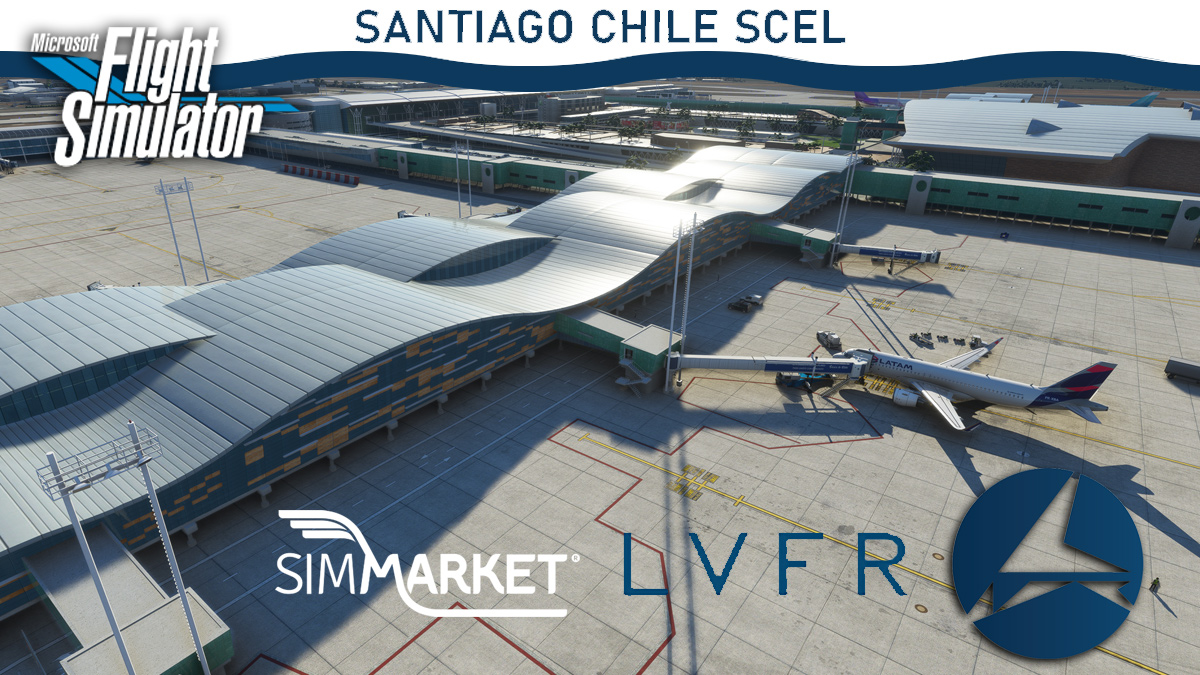 LatinVFR – Santiago Chile SCEL MSFS