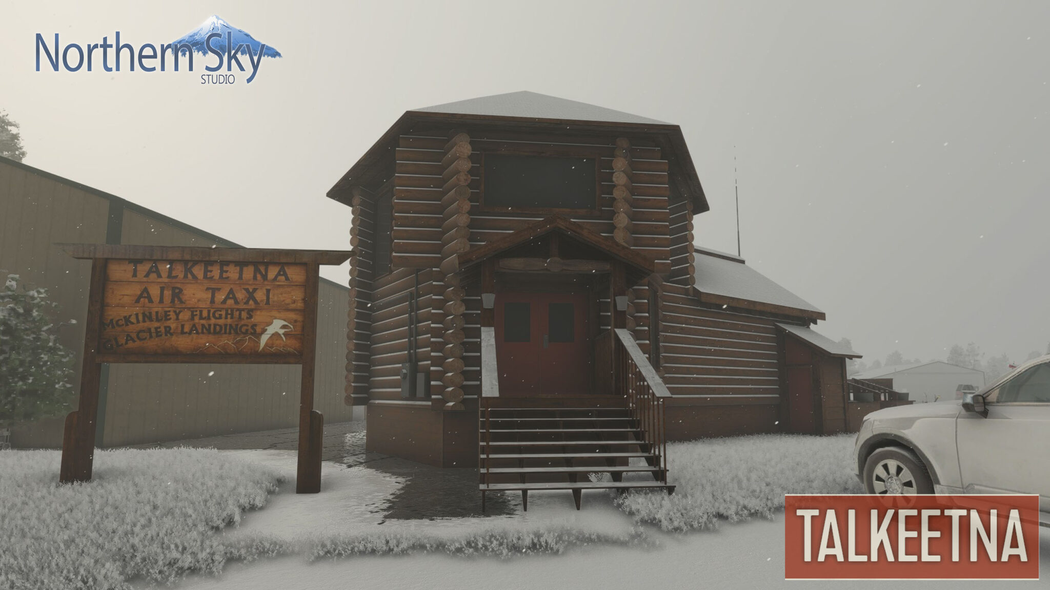 Northern Sky Studio – Talkeetna, Molokai, Kapalua for MSFS