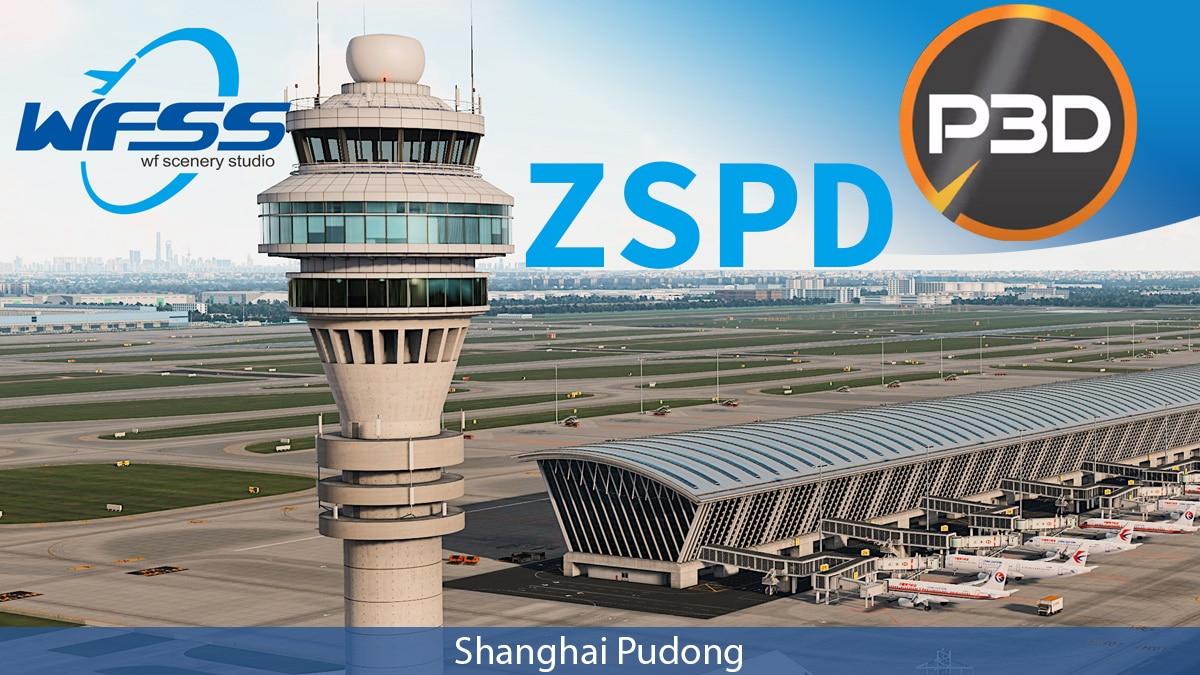 WF Scenery Studio – Shanghai Pudong Intl ZSPD P3D4.5-5