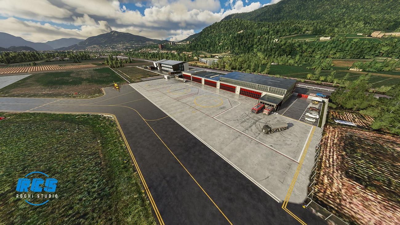 Aerosoft – RCstudio Airport Trento-Mattarello LIDT MSFS