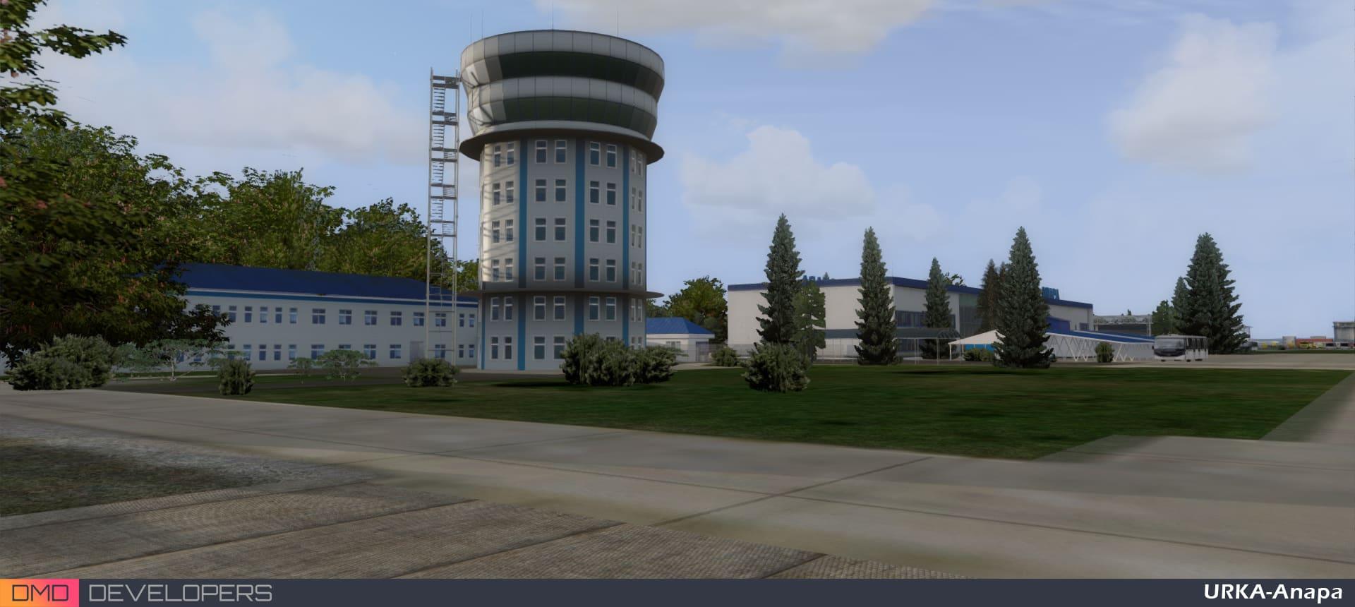 DMD Developers – Anapa (Vityazevo) Airport P3D4