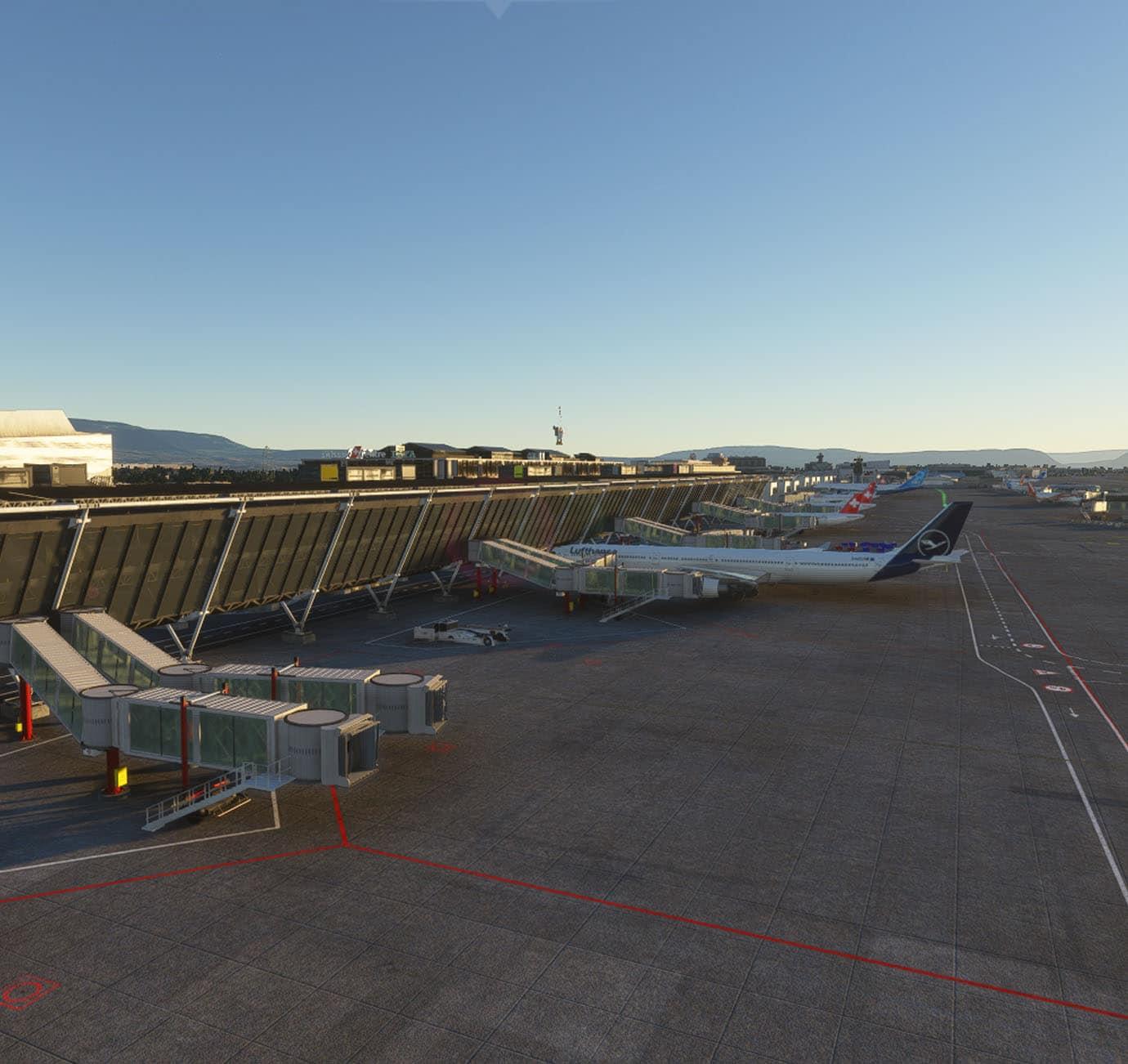 RedWing Sim – Geneva Airport LSGG MSFS