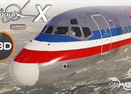 Fly The Maddog X – P3D v5.2 Compatible Now and MSFS News
