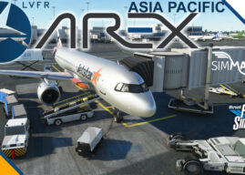 LatinVFR AREX Asia Pacific MSFS Available